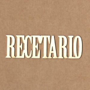 maderita recetario