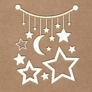 maderitas movil estrellas