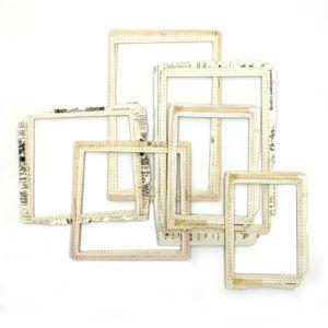 marcos decorativos beige