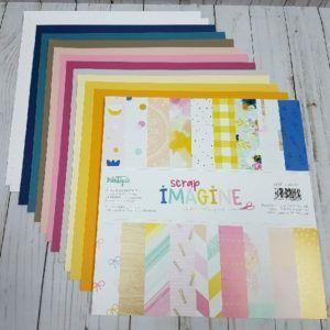 Pack-Imagine + cartulinas