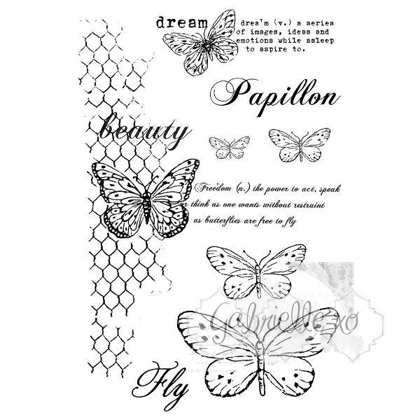 sellos gabis butterflies are free