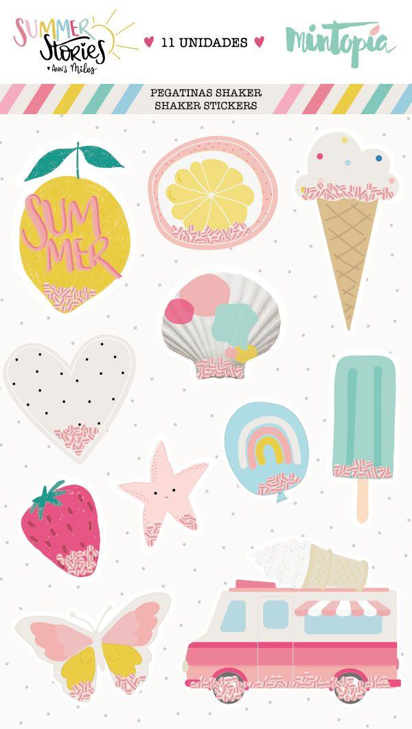 Pegatinas-Shaker-Summer-Stories