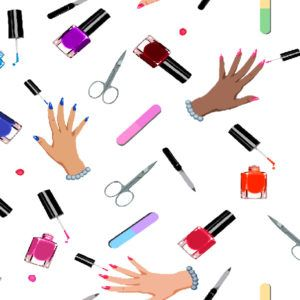 Tela-manicure
