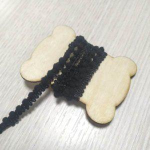 cinta de madroños negro