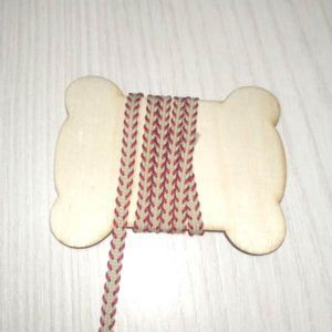 cinta tejida con pespunte