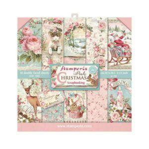 kit papeles pink christmas