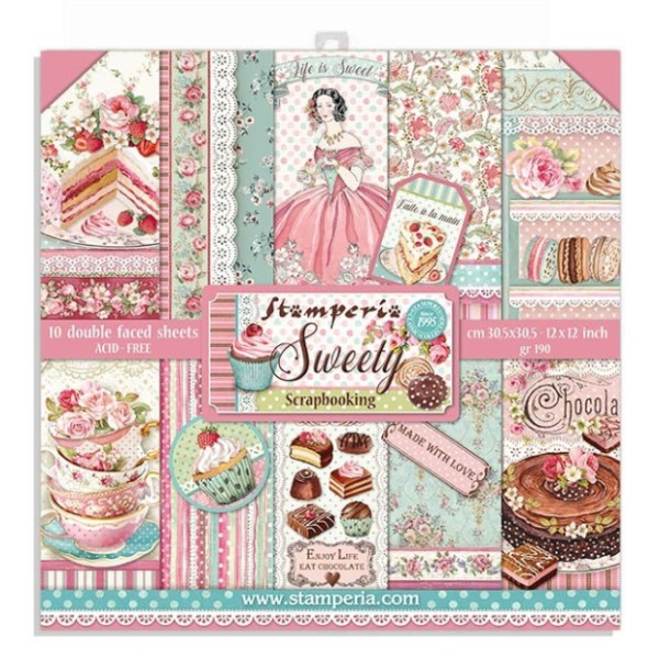 kit de papeles sweety