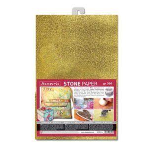 lamina stone paper oro