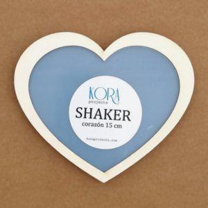 shaker corazon 15cm