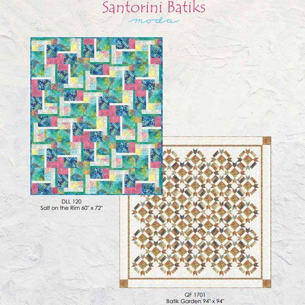 Santorini-Batiks