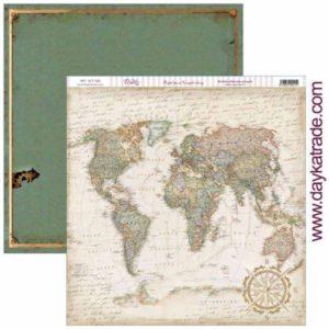 papel mapamundi