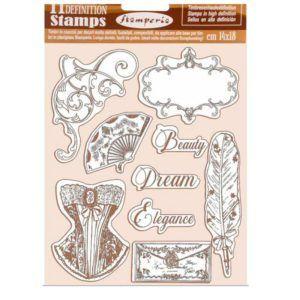 sellos de caucho princess
