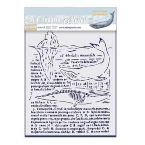 stencil ballena
