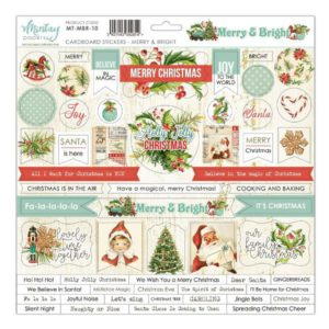 chipboards merry & bright