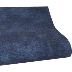 ecopiel tela azul jeans