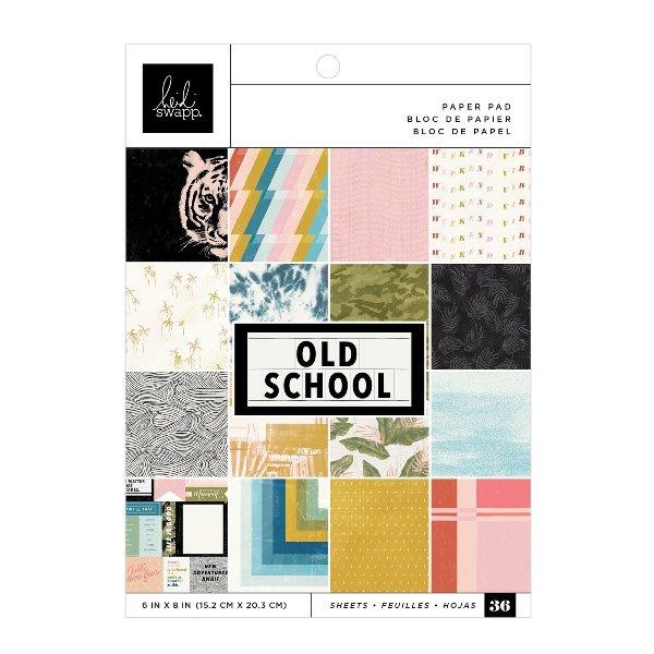 pad papeles old school