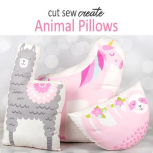panel animal pillows
