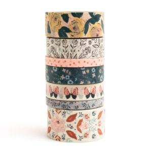 washi tape fresh bouquet