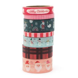 washi tape hey santa