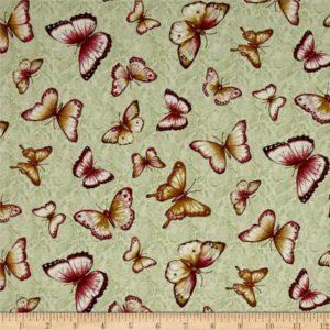 Butterflies-green