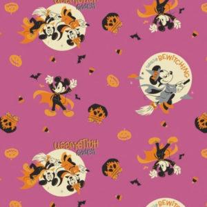 tela halloween Mickey