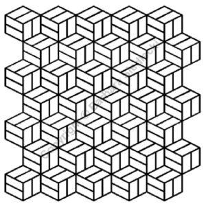 Plantilla Marquetry Pattern