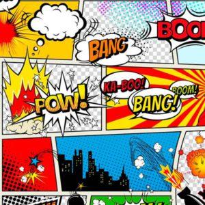 Tela viñetas comic