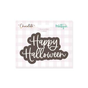 título de goma happy halloween