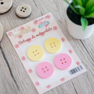 botones de metacrilato