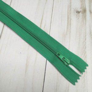 cremallera de nylon verde 16cm