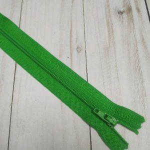 cremallera nylon 20cm verde hierba