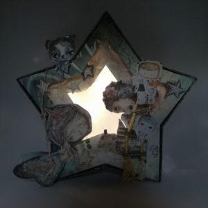 diorama de estrella