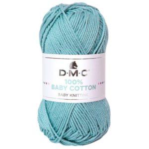 baby cotton azul empolvado