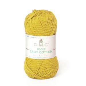 Hilo Baby Cotton mostaza claro