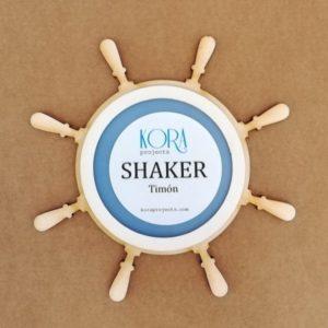 shaker forma timón