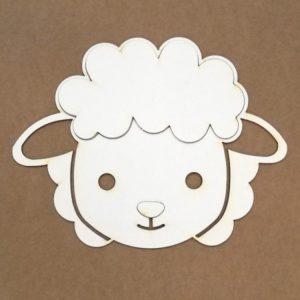 silueta para repujado oveja