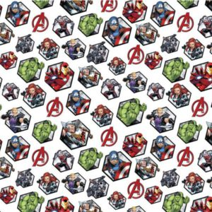Tela-Vengadores-hexágonos