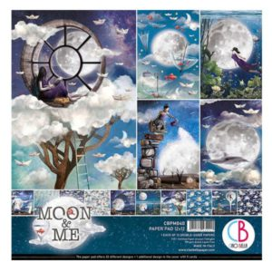 kit de papeles moon