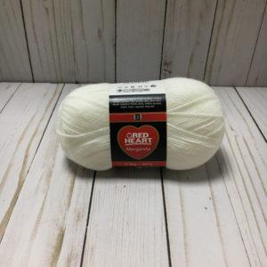 lana acrílica blanca