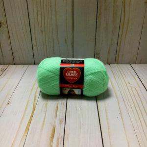 lana acrílica verde agua