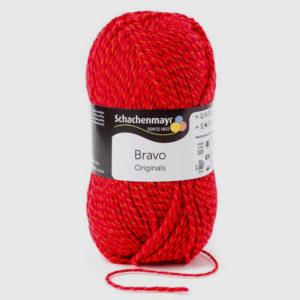 lana bravo originals rojo jaspeado