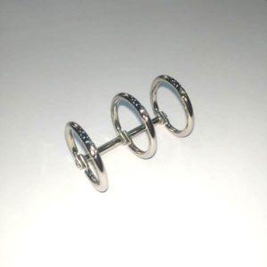 mecanismo de 3 anillas plata