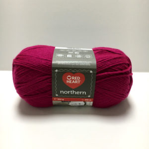 red heart northern fucsia
