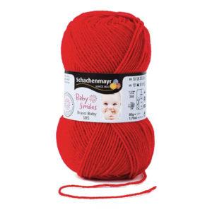 lana baby-smiles-color rojo