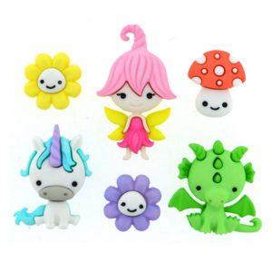 botones fairies welcome