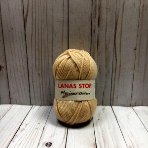 lanas stop oxford marrón