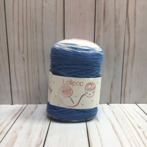 lollipop azul rosas crafts