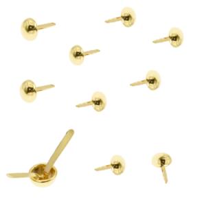 pack de 10 brads dorados