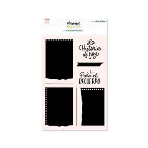 sellos acrilicos notepad