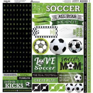 alpha sticker soccer